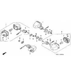 Поворотник CBR600RR (03-06)/ CBR1000RR (04-05) передний левый