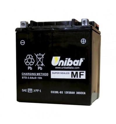 Аккумулятор UNIBAT YIX30L-BS