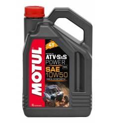 Моторное масло Motul ATV SXS Power 4T 10W-50 4л