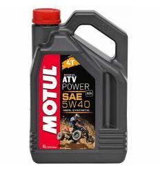 Моторное масло Motul ATV Power 4T 5W-40 4л