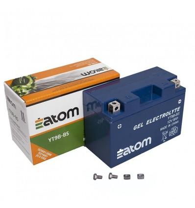 Аккумулятор Atom YT9B 4 YT9B BS GEL гелевый