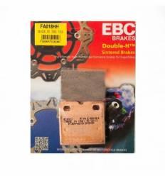 Тормозные колодки задние EBC FA018 HH DOUBLE H Sintered