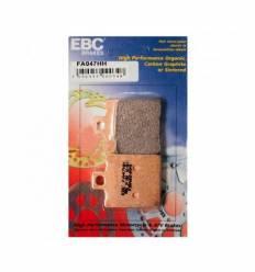 Тормозные колодки задние EBC FA047 HH DOUBLE H Sintered