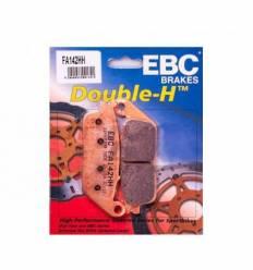 Тормозные колодки передние EBC FA142 HH DOUBLE H Sintered