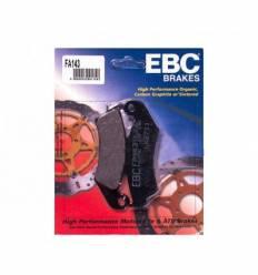 Тормозные колодки задние EBC FA143
