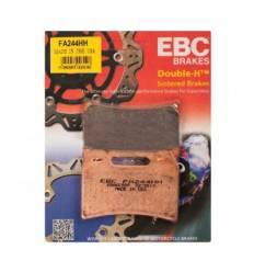 Тормозные колодки передние EBC FA244 HH DOUBLE H Sintered