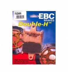 Тормозные колодки задние EBC FA254 HH DOUBLE H Sintered