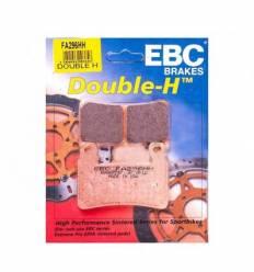 Тормозные колодки передние EBC FA296 HH / FA265 HH DOUBLE H Sintered