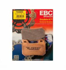Тормозные колодки задние EBC FA304HH DOUBLE H Sintered
