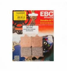 Тормозные колодки передние EBC FA322/4 HH DOUBLE H Sintered