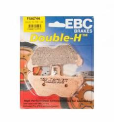 Тормозные колодки передние EBC FA407 HH DOUBLE H Sintered