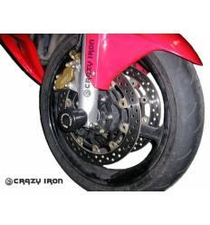 Слайдеры в ось переднего колеса для Honda CBR600RR 2003-2006