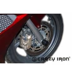 Слайдеры в ось переднего колеса для Honda VFR800 2002-2012 VFR800X 2011-2014