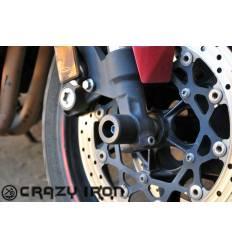 Слайдеры в ось переднего колеса для Yamaha FZ-1 Fazer 2006-2016